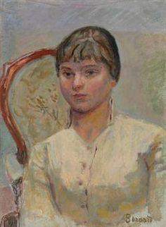 Pierre Bonnard, Jeune femme au fauteuil (étude)