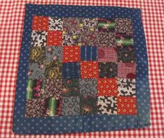 Antique 1890 1900s Doll Quilt Hot Pad Berks County Pennsylvania | eBay, gb-best
