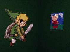 My Zelda office -