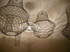 I am in love with this website. Not only does it have this cool ass chandelier out of paperclips but also other home decorations that you can buy at the dollar store