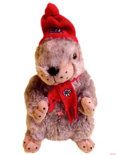 Murmeli 35cm / Typical Swiss Mountain Animal named marmot. In Switzerland we have a lot of this animals in our mountaines.