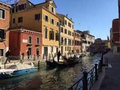 Apartment in Venezia, Italy. A nice large apartment facing a traditional and sunny canal in a residential area not far from main famous sites. The apartment has 2 bedrooms and 2 bathrooms with kitchen, a nice dining room and private courtyard where you will enjoy some unforge...