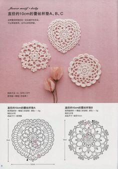 Esquemas de joyas crochet y accesorios - hecho a mano-Paradise