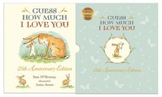 Guess How Much I Love You Anniversary Slipcase Edition by Sam McBratney and illustrated by Anita Jeram Kids Prizes, 25th Anniversary Gifts, I Love You, My Love, Best Baby Shower Gifts, Book Gifts, Childrens Books, Childrens Gifts, Anita Jeram