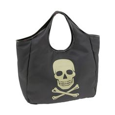 Betsey Johnson Tote-ally Reversible Skull Tote | Bag Bliss found on Polyvore