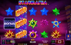 Play the hugely popular in HD Starmania #slots at Monster Casino and enjoy great #wins. Sign up now, avail an instant £5 bonus now https://www.monstercasino.co.uk/game/starmania/