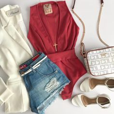 Image may contain: shorts, Beach Outfits, Image may contain: shorts. Look Fashion, Korean Fashion, Fashion Outfits, Womens Fashion, Fashion Trends, Summer Outfits, Cute Outfits, Beach Outfits, Summer Dresses