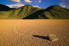 Traveling Rock - Racetrack, Death Valley, California - emmanuelcoupe.com