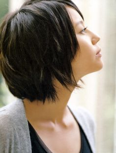 Horikita Maki-Has the perfect hairstyle for my character.