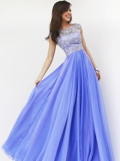 bridalup.com SUPPLIES Attractive Floor-Length Scoop Beading Prom Dress  Elegant Prom Dresses
