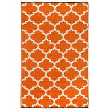 Tangier Carrot World Outdoor Rug