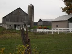 Amish Farm, Mercer County, PA Amish Farm, Amish Country, Country Life, Amish Culture, Mercer County, Autumn 2017, Newcastle, Old And New, New Homes