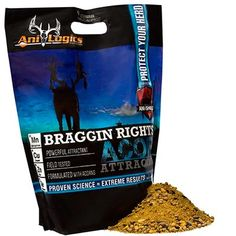 Ani Logics Outdoors 70150 Braggin Rights Acorn, 6-Lbs.   https://huntinggearsuperstore.com/product/ani-logics-outdoors-70150-braggin-rights-acorn-6-lbs/