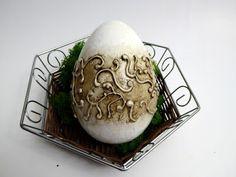 Świat Decoupage -  Mój magiczny Świat : jajo z zawijasami