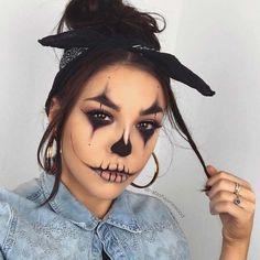 43 idées de maquillage à la mode pour Halloween 2019 #ideesdemaquillage #maquillage