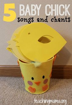 Teaching Mama: 5 Baby Chick Songs and Chants. Pinned by SOS Inc. Resources @SOS Inc. Resources.
