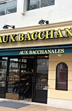 Full French cafe with sandwiches, pastries, desserts - Aux Bacchanales Boulangerie