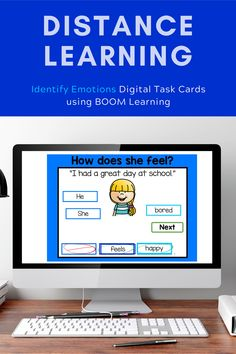 These digital task cards are perfect social/emotional practice for special education distance learning. Teachers can track student progress from the BOOM learning platform. Special Education Activities, Special Education Classroom, Teaching Resources, Social Work, Social Skills, Classroom Routines, Student Behavior, Feeling Happy, Task Cards