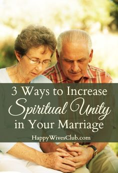 Carlie Kercheval shares 3 Ways to Increase Spiritual Unity in Your Marriage over at The Happy Wives Club.