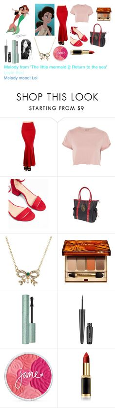 """For Scarlett (friend) - Scarlett's ideal wardrobe by me: Melody from 'The little mermaid 