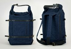 Thisispaper U-tility Backpack Denim