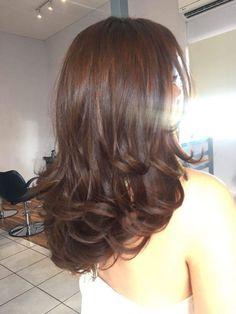 Hairstyles Haircuts, Pretty Hairstyles, Cut My Hair, Hair Cuts, Hair Inspo, Hair Inspiration, Aesthetic Hair, Layered Hair, Hair Highlights