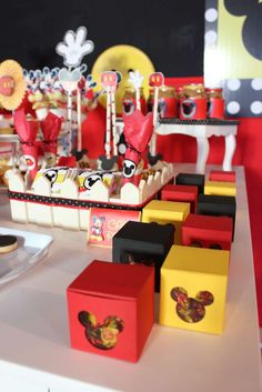 Mickey Mouse Party for Santiago | CatchMyParty.com