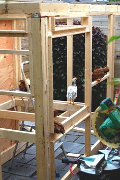how to build the most awesome chicken coop ever!... Living in our tiny place now... But you ever know when this might come in handy.