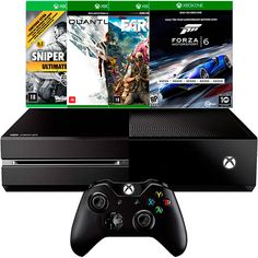 [Americanas\] Xbox One + Quantum Break + Forza 6 + Farcry 4 + Sniper Elite 3 = 1539 + fret