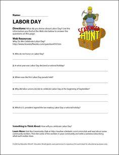 Education World: Labor Day!