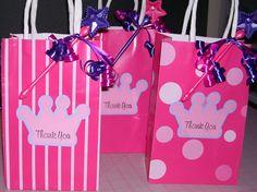 Princess Birthday Treat Bags