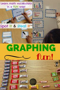 Do you have a MATH WORD WALL?? These word wall cards DOUBLE as a GAME!!!