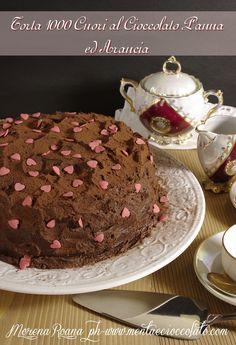 Menta e Cioccolato: Torta 1000 Cuori Panna Cioccolato ed Arancia per San Valentino