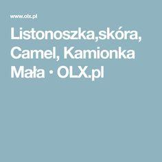 Listonoszka,skóra,Camel, Kamionka Mała • OLX.pl