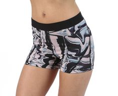 Nike - Hypercool Short 3in Printed Marble | Shorts | Rosa | Sportamore.no