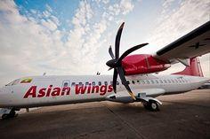 Asian Wings Airways turboprop airiiner