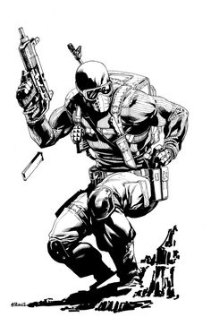 Snake Eyes Commission by Robert Atkins Comic Style Art, Comic Styles, Fanart, Comic Books Art, Comic Art, Snake Eyes Gi Joe, Soldier Drawing, Comic Character, Character Design