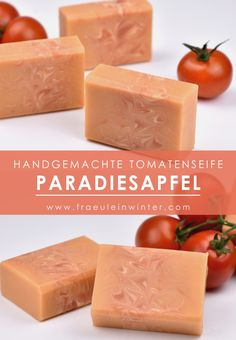 Nourishing tomato soap with fresh tomato juice. Of course, homemade. Source by The post tomato soap appeared first on Alba& Soap Works.
