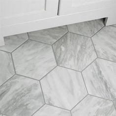 Bathroom Floor Tiles, Bathroom Wall, Master Bathroom, Tile For Small Bathroom, Home Depot Bathroom Tile, Tile Floor Kitchen, Best Bathroom Flooring, Tile Bathrooms, Shower Floor Tile