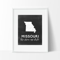 Missouri Printable by SamanthaLeigh on Etsy