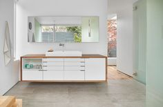 A White & Cool Pastels House In Seattle: Artist Residence by Heliotrope Architects