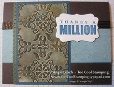Another Faux Patina Technique card