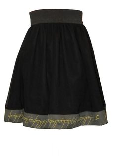 $25.00 LOTR One Ring skirt, intro price of $25.00! Unleash your inner geek!