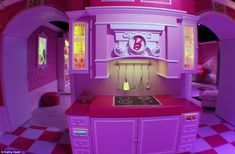 Barbie The Dreamhouse Experience, a 10,000 square foot pink paradise of plastic, has opened in Sunrise, Florida.  Read more: http://www.dailymail.co.uk/news/article-2324702/Worlds-life-size-replica-Barbies-Dreamhouse-opens-tourists-flock-10-000-square-foot-pink-paradise.html#ixzz2Xyuv0nO0  Follow us: @MailOnline on Twitter | DailyMail on Facebook