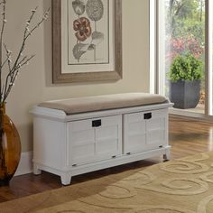 You'll love the Lakeview Wood Storage Entryway Bench at Wayfair - Great Deals on all Furniture  products with Free Shipping on most stuff, even the big stuff.