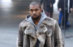 Paris Menswear: Kanye West schmoozes at Givenchy, as a gorilla fur coat causes controversy