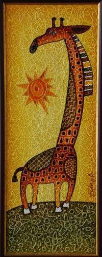 Картины (живопись) : Жираф