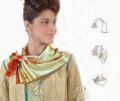 28 способов красиво завязать платок - Ярмарка Мастеров - ручная работа, handmade