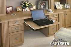 Custom Made Bed Room Desk / Wall Unit