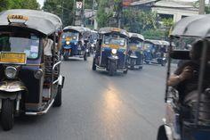 les tuk-tuk à Chiang Maï